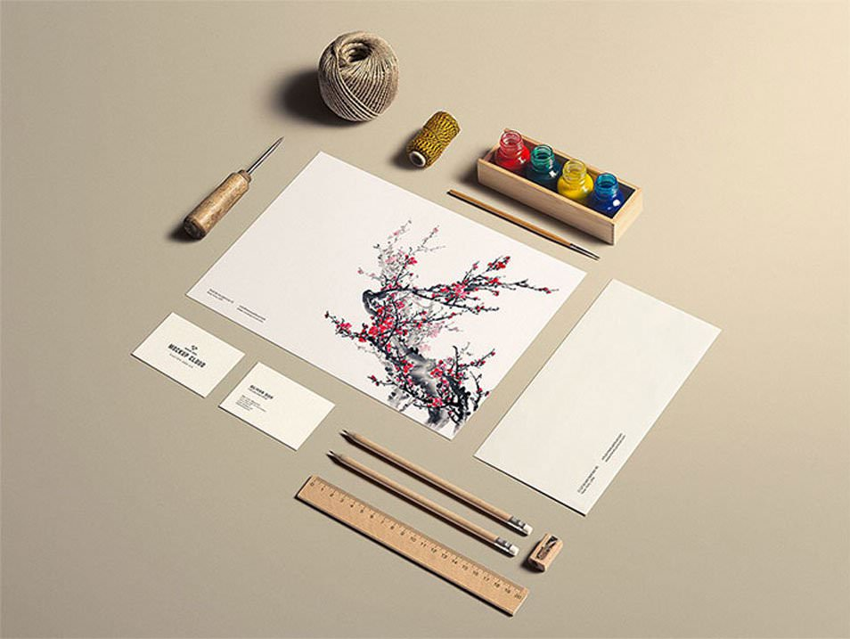 Stationery Mock-Up / Art & Craft
