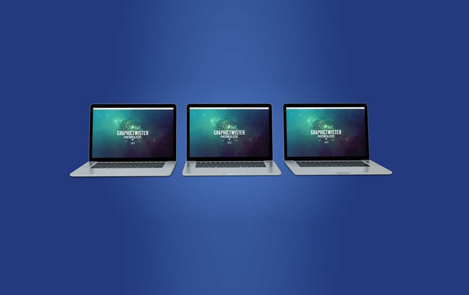 Triple Mac Book Pro