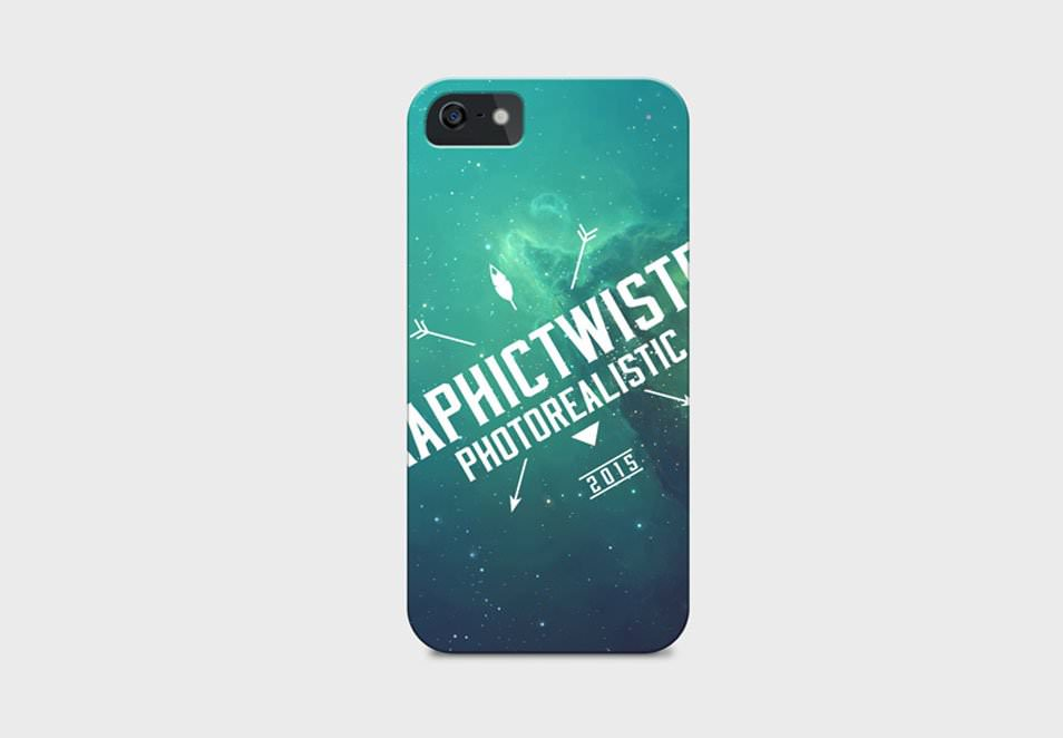 iPhone 5 Cover PSD