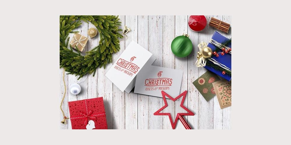 Free Christmas Hero Image PSD