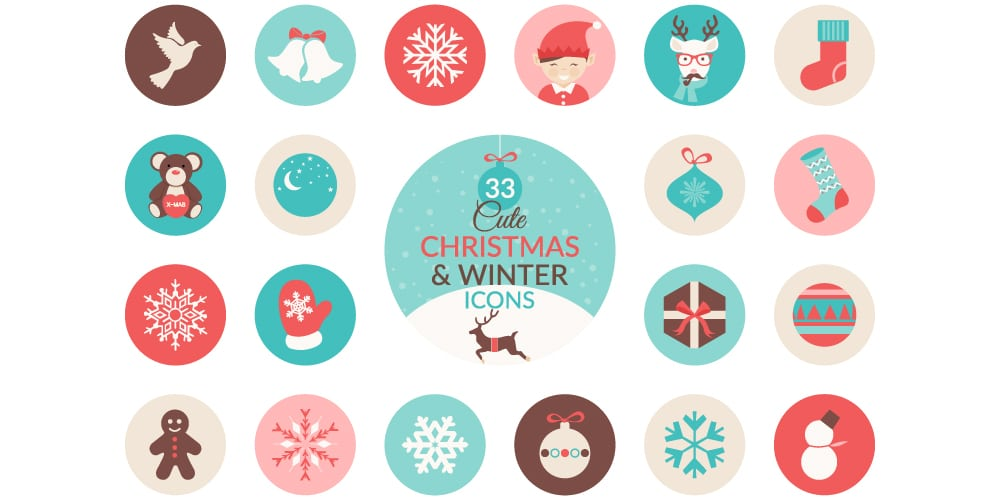 Free Christmas and Winter Icons