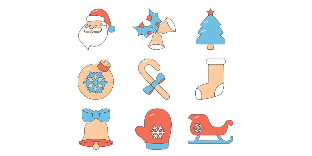 Free Icons for Christmas