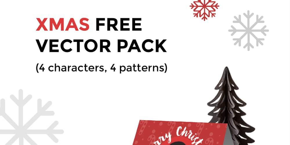 Free Xmas Vector Pack