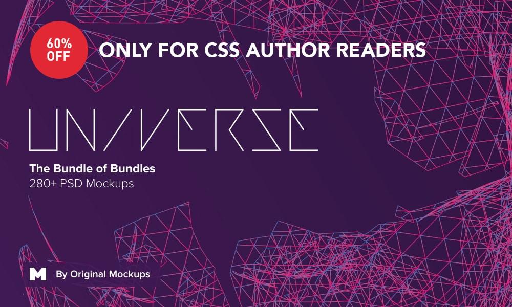 Universe Bundle, 280+ PSD Mockups from Original Mockups | 60% Offer