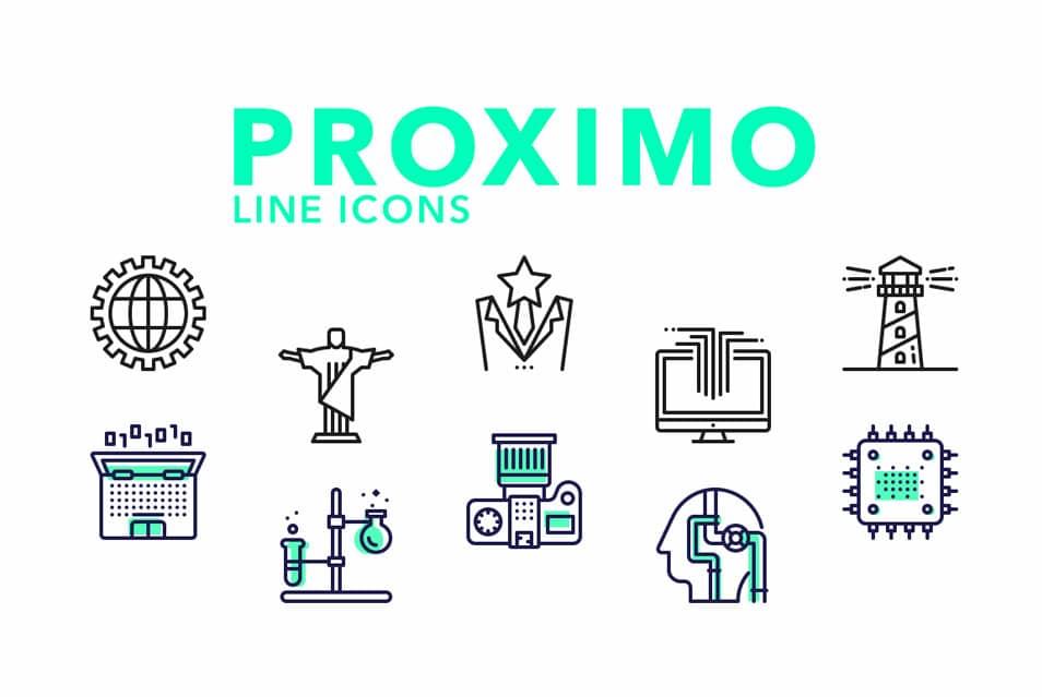 Proximo-line-icons