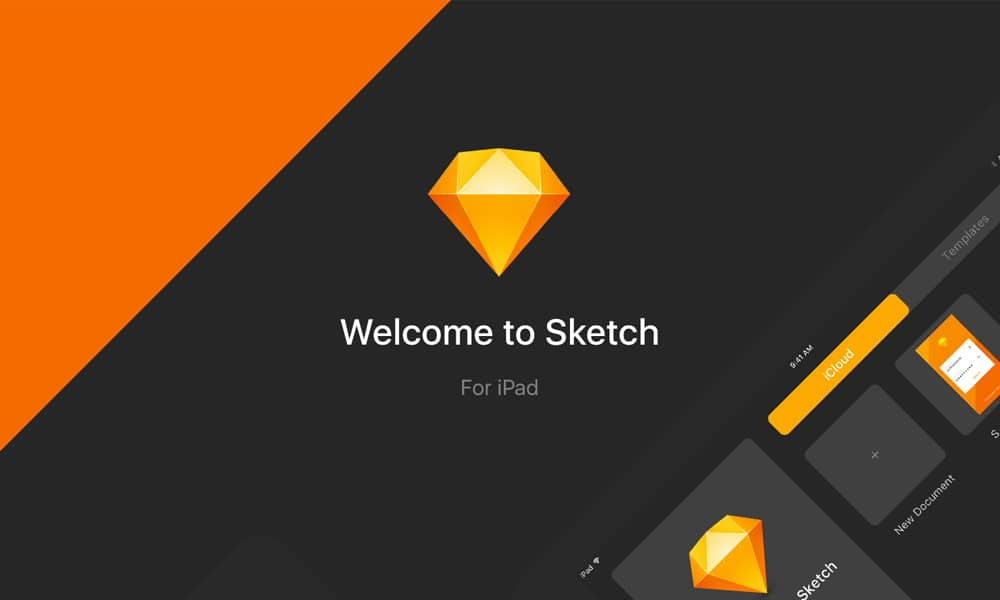 Sketch for iPad Concept