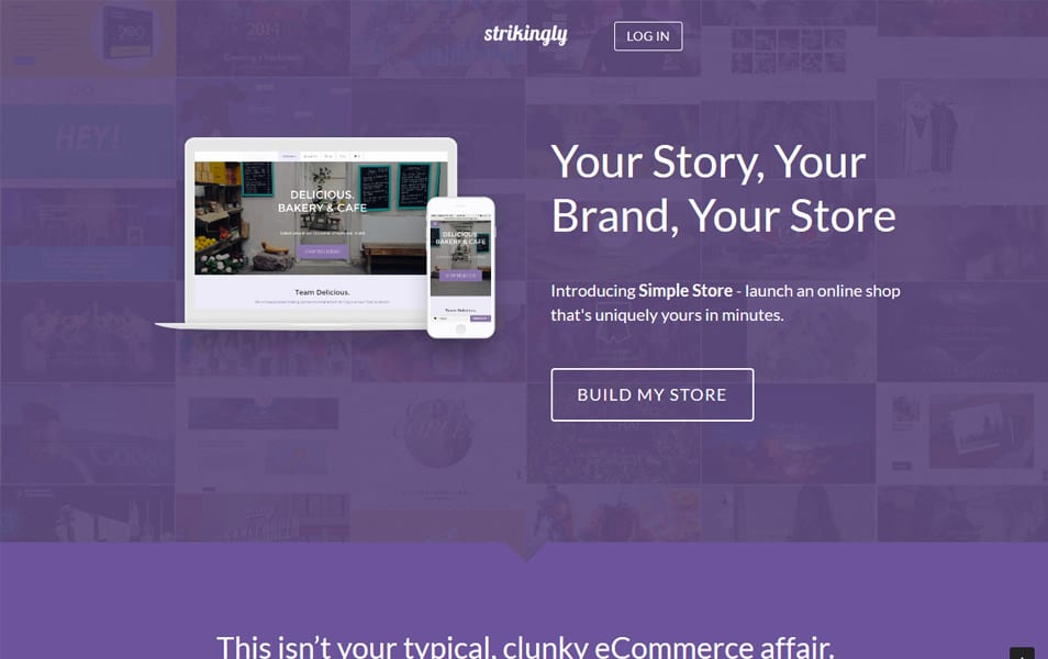 Strikingly: Simple Store