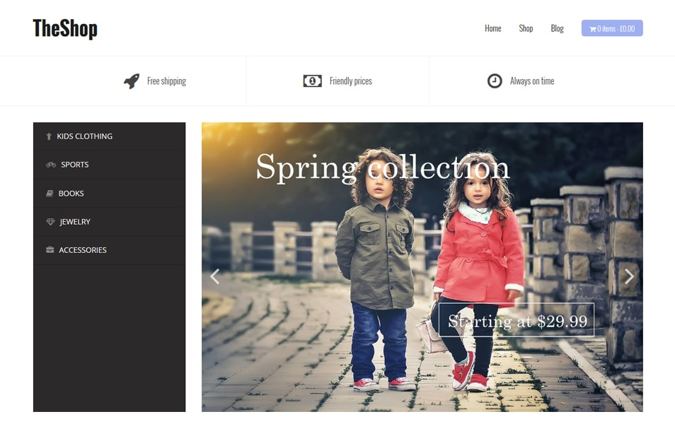 TheShop Responsive WordPress Theme