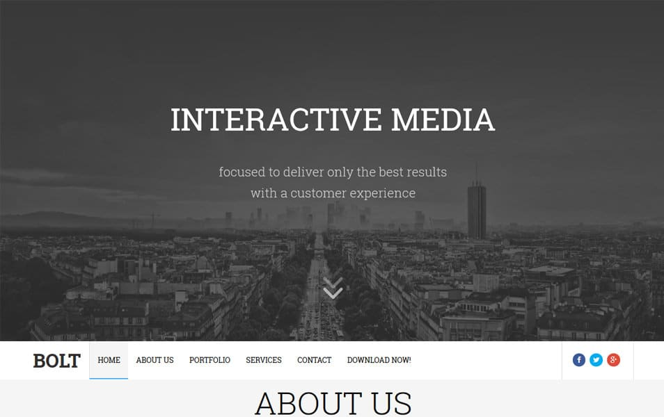 Bolt Responsive Blogger Template
