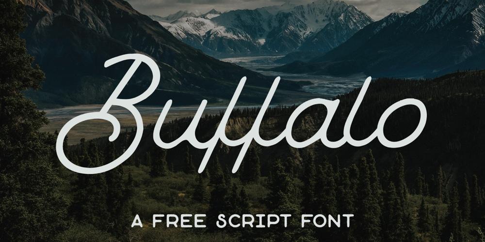 Buffalo Script Font
