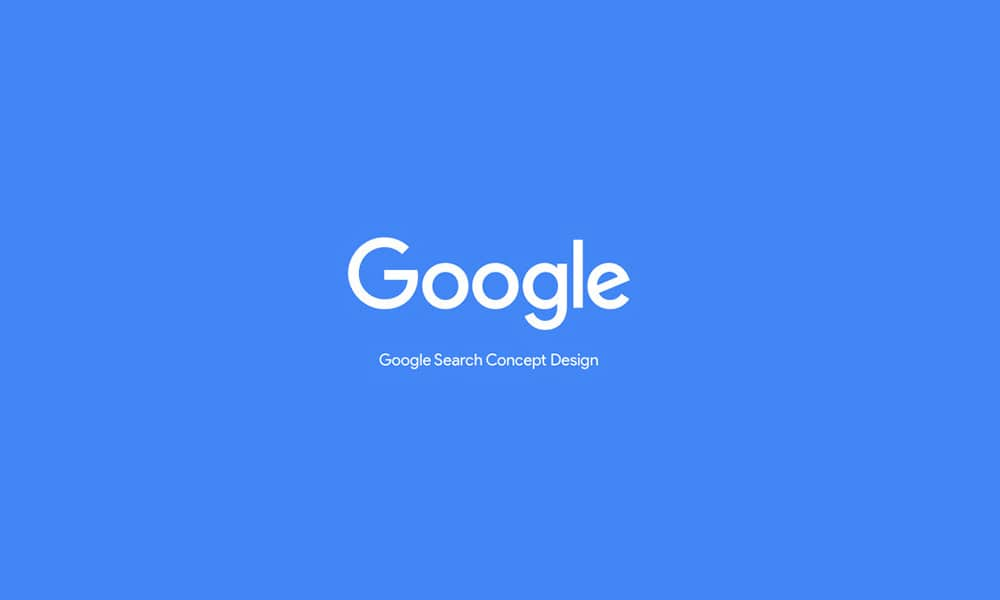 Google-Search-Design-Concept