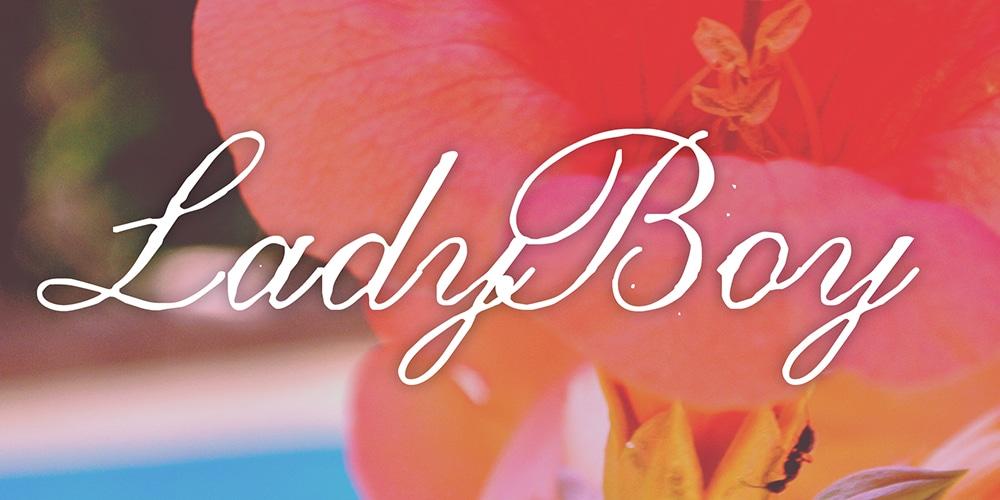LadyBoy Font