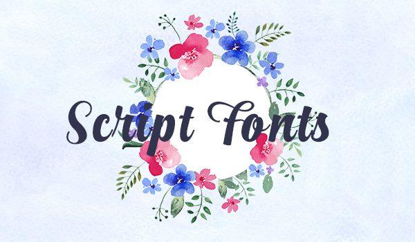 Best script Fonts