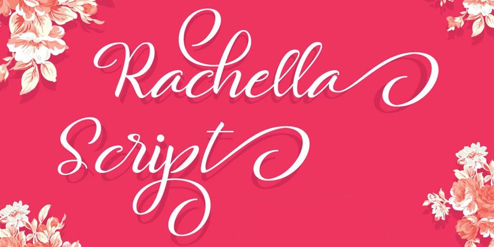 Rachella Script Typeface