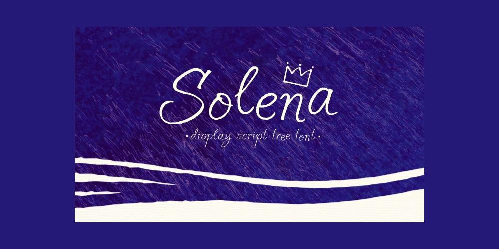 Solena Script