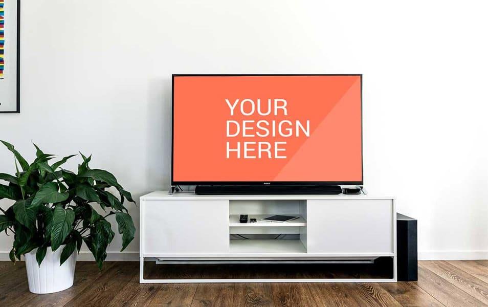 Sony TV Mockup