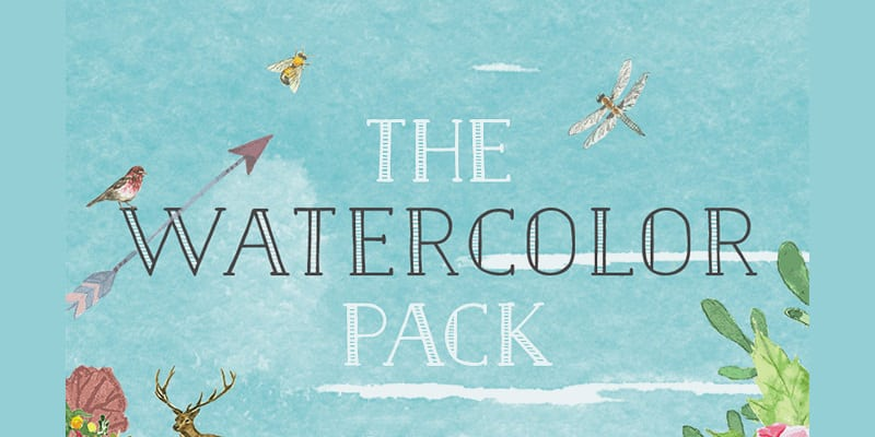 Valentine's Watercolor Pack