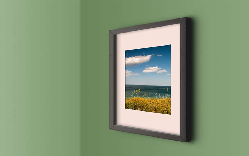 Wall PhotoFrame Mockup