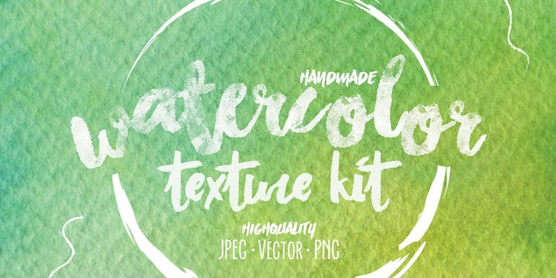 Watercolor-Texture-Kit
