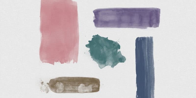 Watercolour Brushes for Photoshop