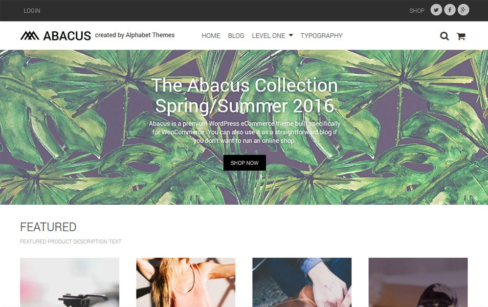 Abacus Responsive WordPress Theme