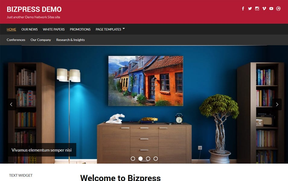 Bizpress Responsive WordPress Theme