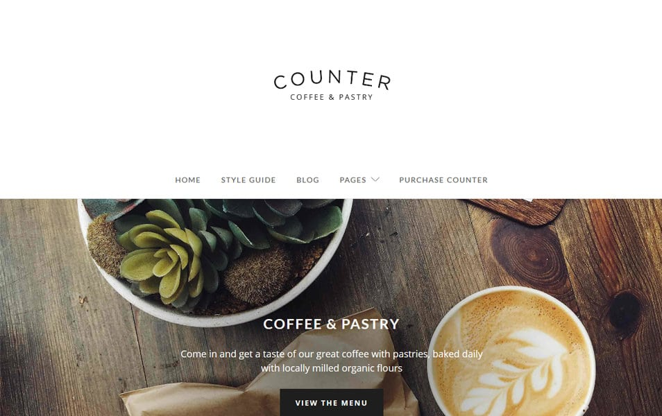 Counter Responsive WordPress Theme