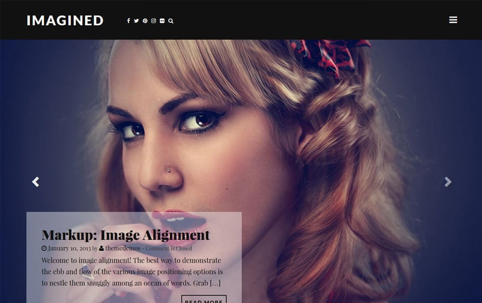 Imagined Responsive WordPress Theme