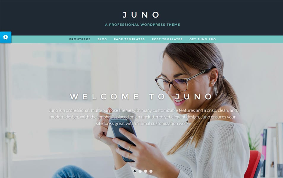 Juno Responsive WordPress Theme