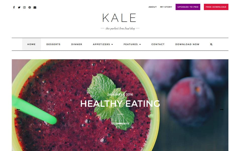 Kale Responsive WordPress Theme