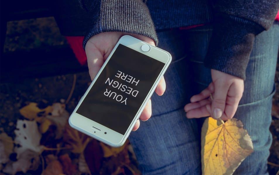 Minimal iPhone 6 Mockup