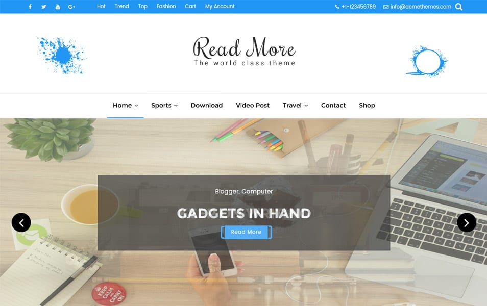 Read More Responsive WordPress Theme