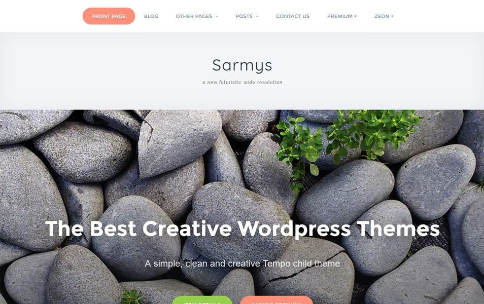 Sarmys Responsive WordPress Theme
