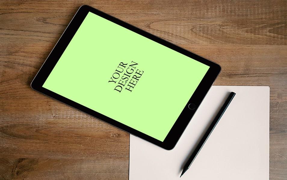 iPad Air2 Mockup