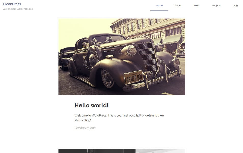 lightpress Responsive WordPress Theme