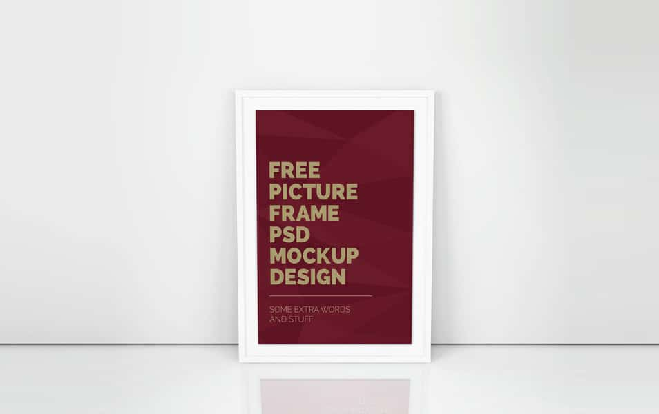 Artwork Frame PSD Mockup Vol.5