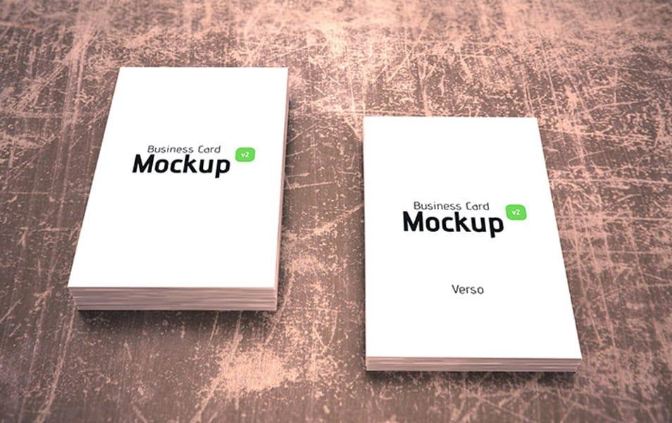 Business card mockup 07