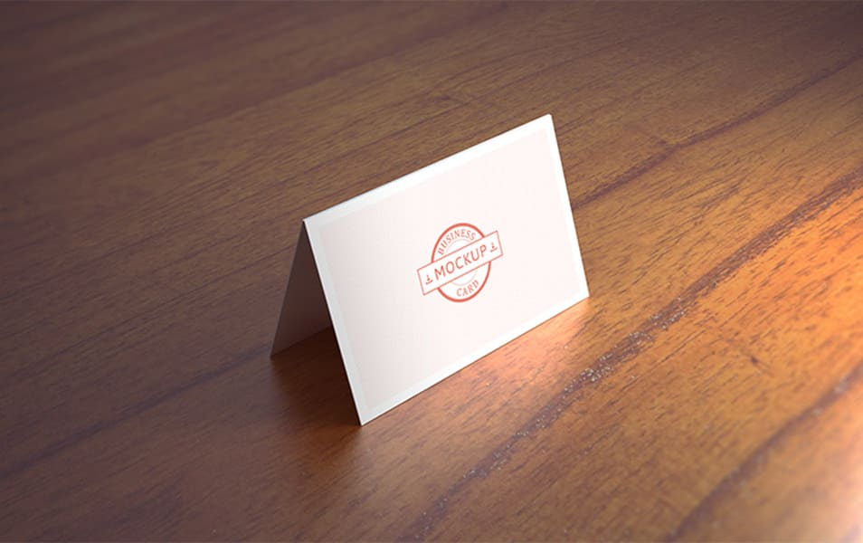 Business card mockup 11