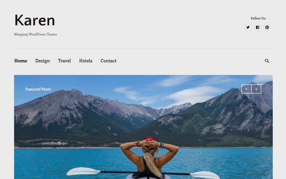 Karen Responsive WordPress Theme
