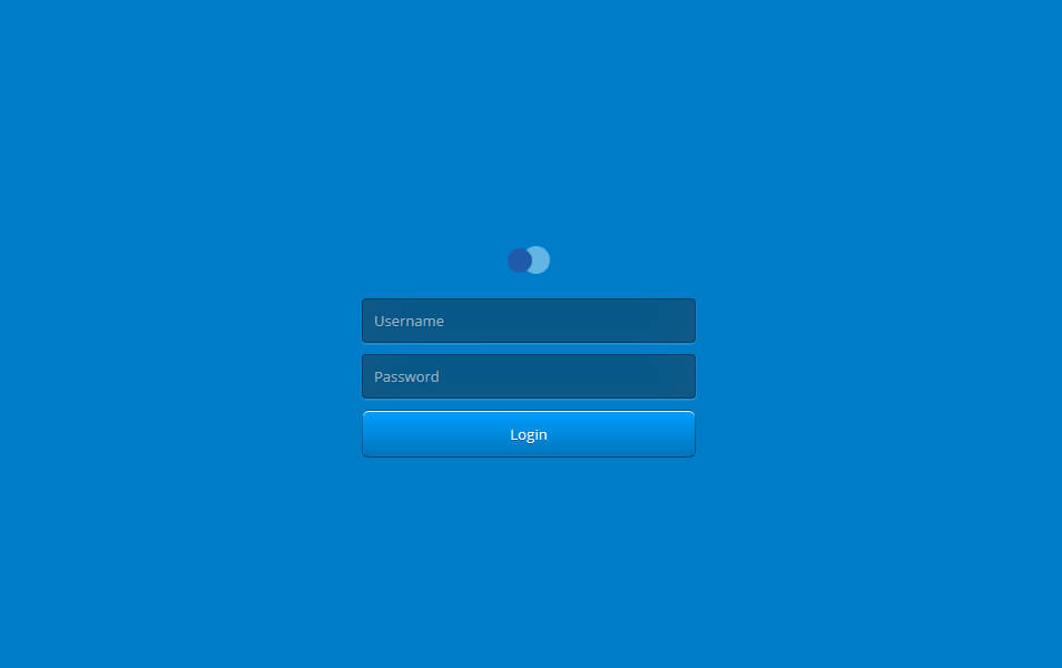 Login Screen v1