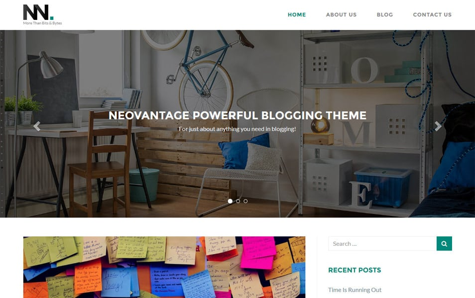 NEOVANTAGE Responsive WordPress Theme