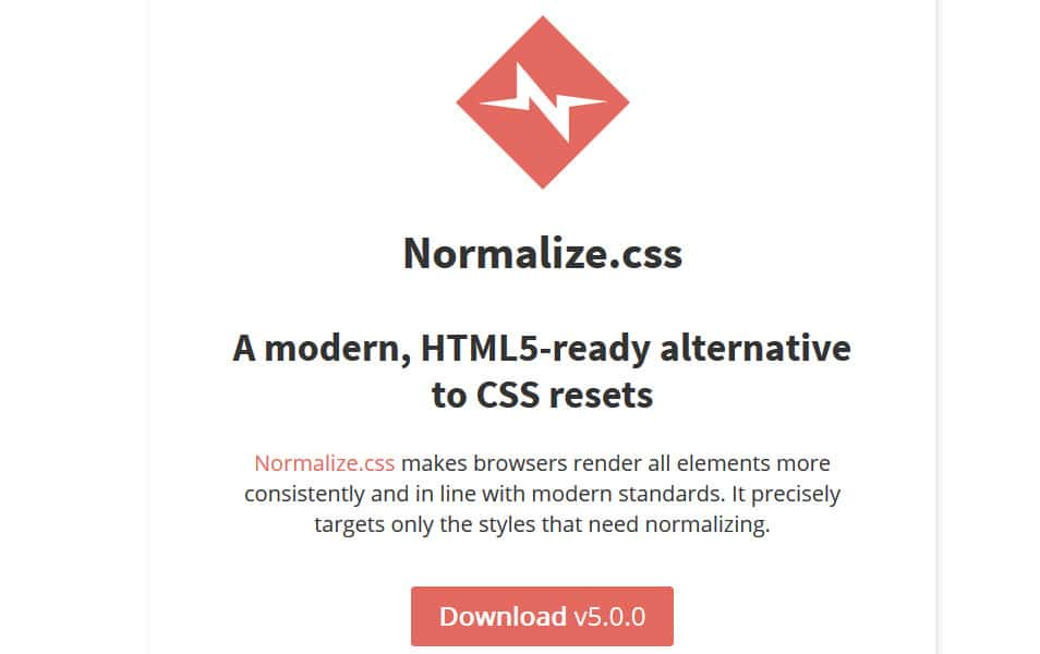 10 best css reset stylesheets css author normalizes malvernweather Images
