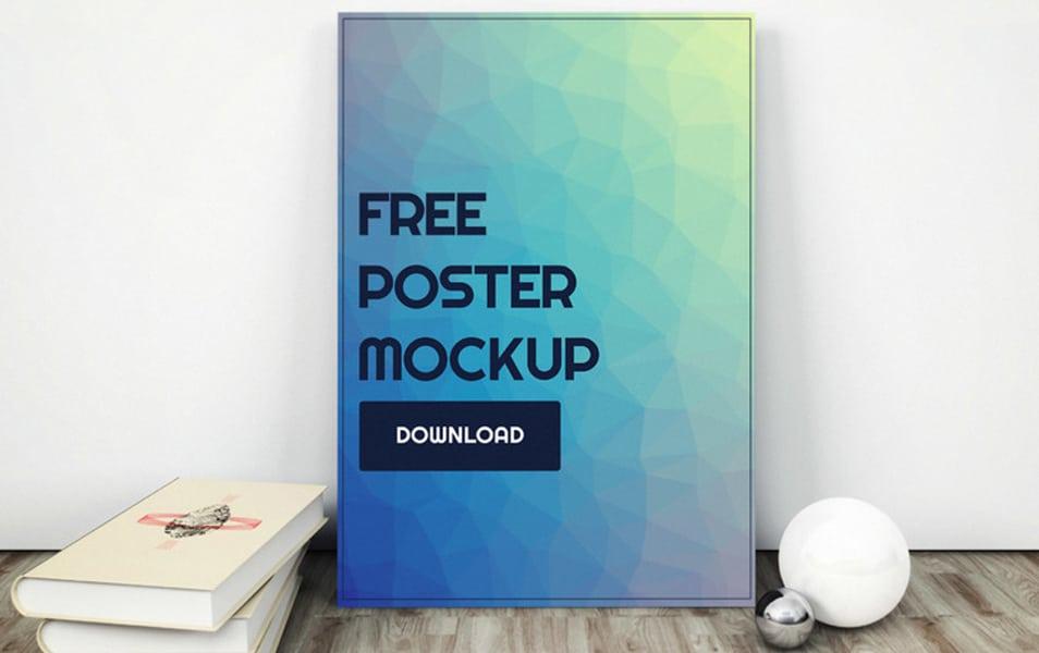 Poster Design PSD Mockup