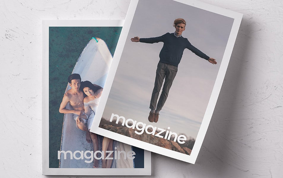 Psd Magazine Mockup Vol12