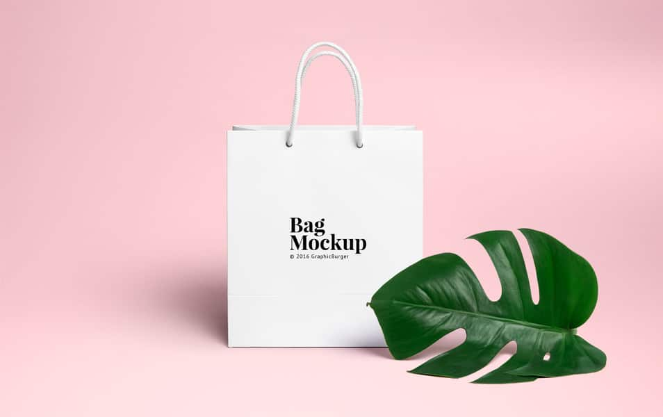 Shopping Bag PSD MockUp #2