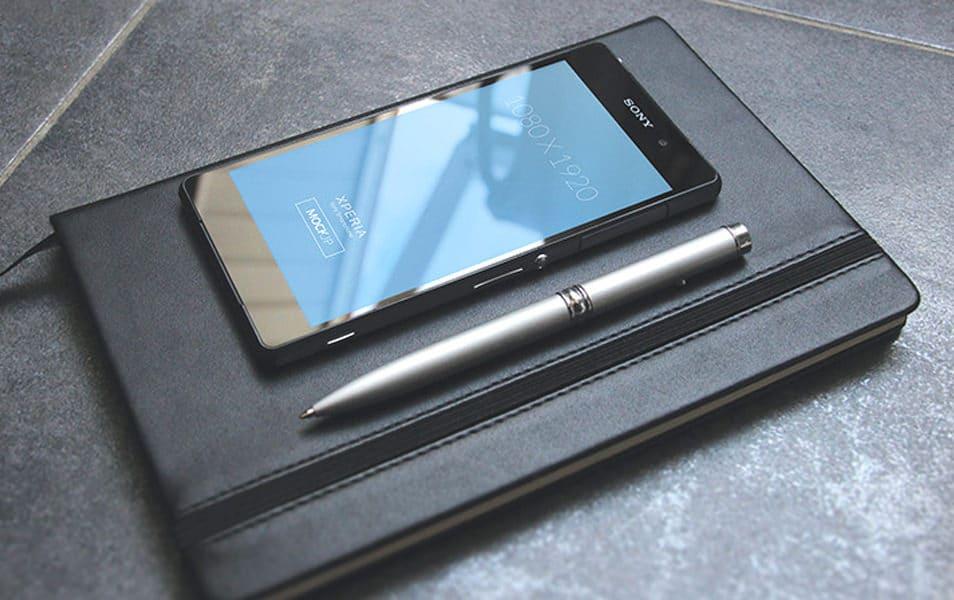 Sony Xperia mockup 01