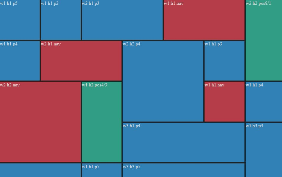 jQuery tileWall