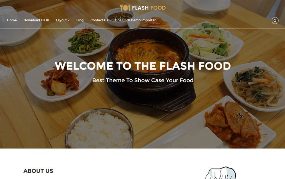 Flash Responsive WordPress Theme