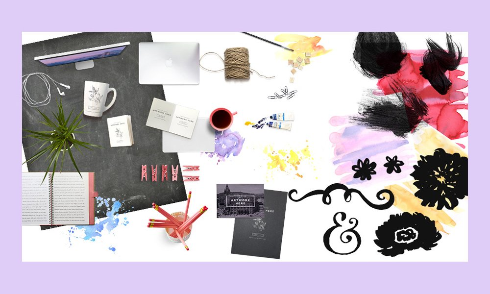 Free Scene Creator Items, Watercolour Graphics