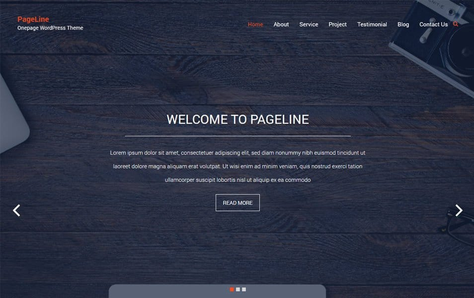 PageLine Responsive WordPress Theme